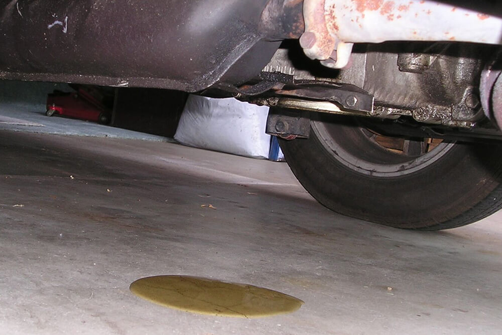 Oil Leaks Can Mean Big Problems